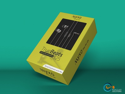 Premium Earphone Packaging Design