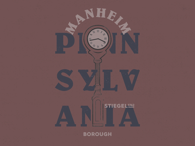 Manheim Pa Borough Mark