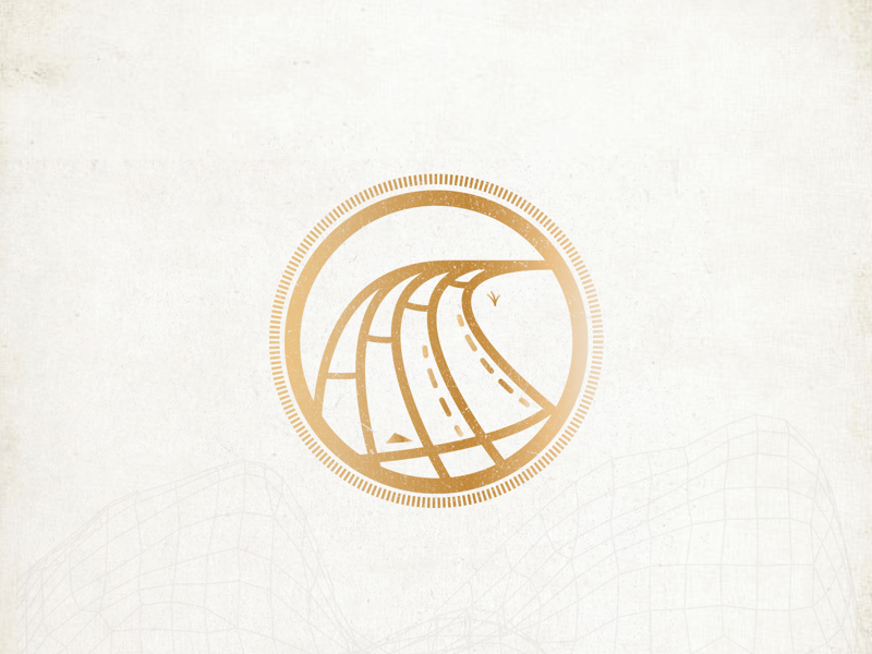 Track & Field Badge athlete design graphicdesign uiux award application badge