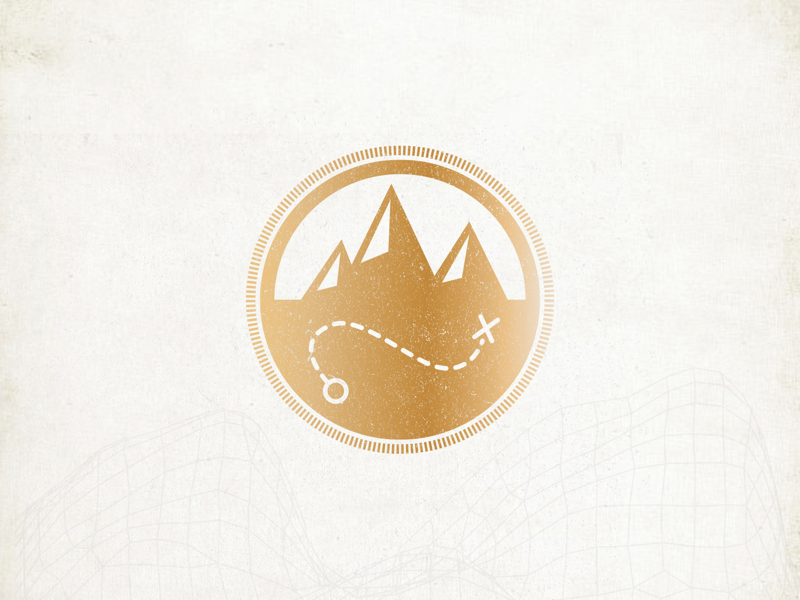 Adventure Badge design graphicdesign appdevelopment app uiux badge logo design badgedesign