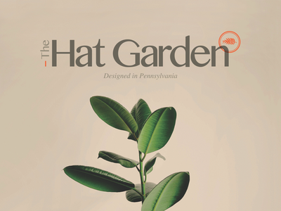 Logo design for The Hat Garden