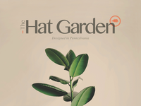 Logo design for The Hat Garden