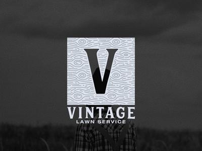 Vintage Lawn Service Secondary Logo Mark