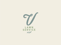 Vintage Lawn Service Logo Design