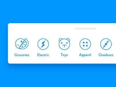App Tab Bar shop concept ui buy ios app icon design