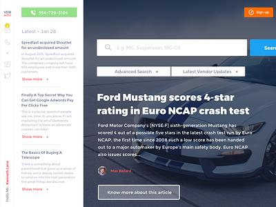 Work in Progress crm vendor article post news platform auto