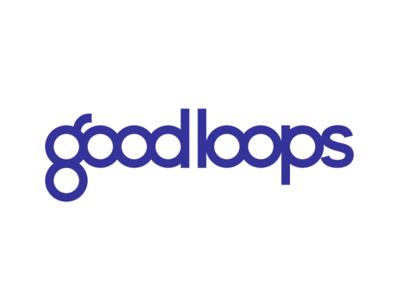 Good Loops Logo typography logomark yarn logotype design identity design brand logo branding brand identity
