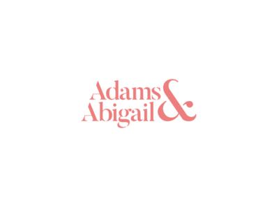 Adams & Abigail - Fashion Logo