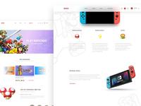 Nintendo website redesign 4