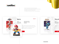 Nintendo website redesign amiibo