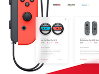 Nintendo website redesign store