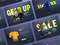 Sports Gear Store Web UI