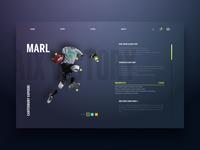Sports Gear Store UI