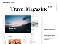 Travel Magazine website