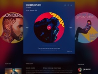 Music Player UI/UX