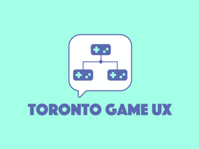 Toronto Game UX Logo illustrator logo branding logo design