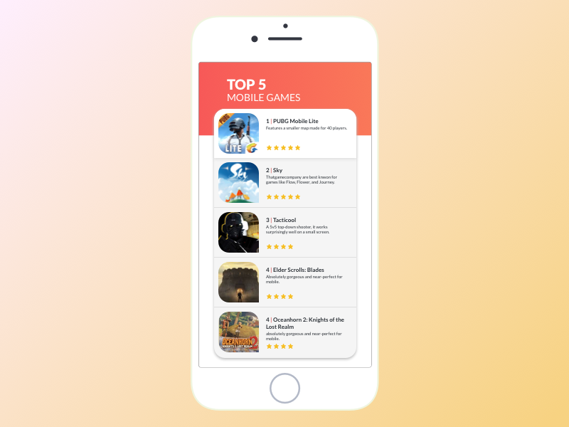 Day 019 | Leaderboard leaderboard video games daily ui 019 mobile app design daily ui