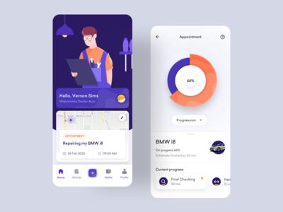 Doctor Auto - Mobile App Exploration