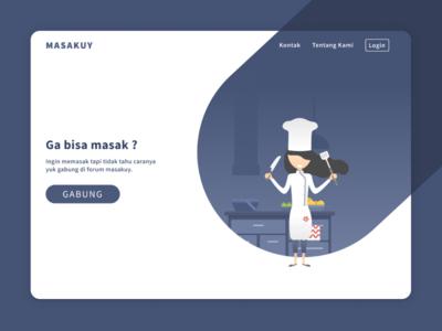 Masakuy Landing Page