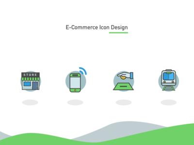 E-Commerce Icon Design