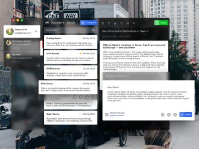 Email App for Desktop