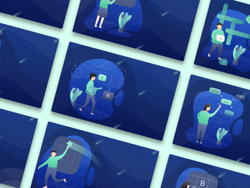 Wordverine - Wordgame illustration