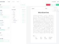 Wordmint   puzzle maker   workspace