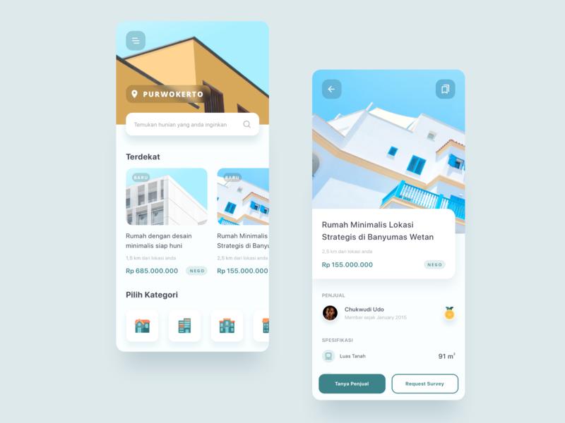 House Finder - Mobile App Exploration