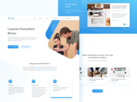 Biran Landing Page - Website Redesign