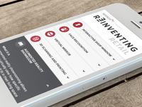 Reinventing Retail: Mobile Experiene