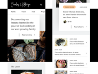 Blog Design WIP