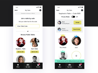 Loyalty App — Invite Members to My Table