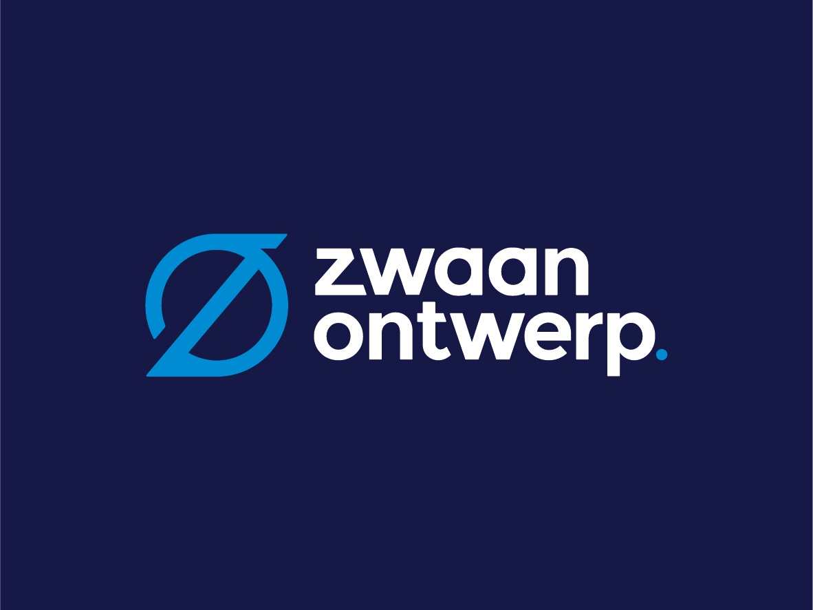 Logo zwaan ontwerp new logo logodesign