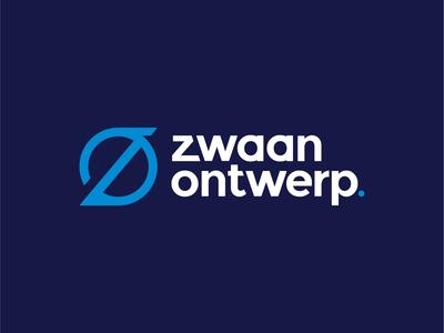 Logo zwaan ontwerp