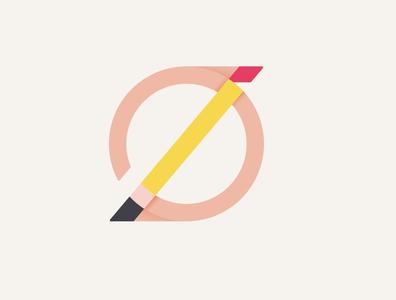 Z+O monogram pencil