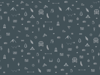 Patterned Outdoor Graphic Background