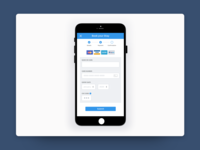 Mobile Payment Screen