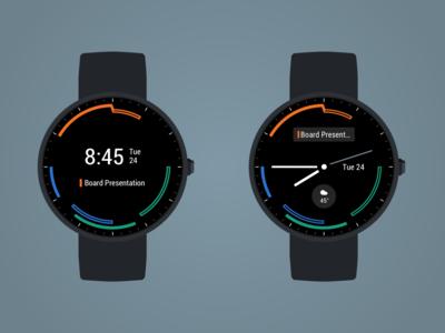 Timecoyl Watchface Display