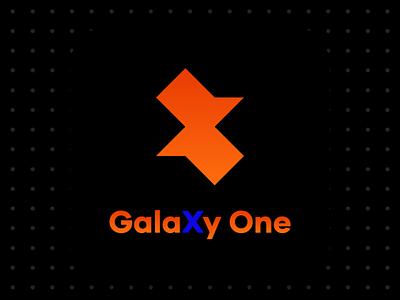 GalaXy One Logo Design icon logo visual  identity brand design vector design logo design logo a day branding brand identity