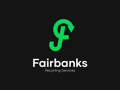 Fairbanks Logo brand design branding graphic design logo typography brand identity visual  identity vector logo a day logo design
