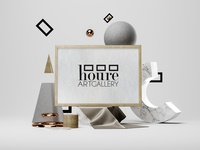 Houre Art Gallery Branding