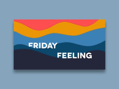 TGIF design friyay minimal flat palette tgif friday
