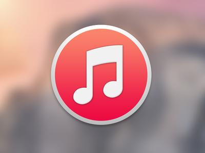 iTunes Icon itunes icon yosemite music note apple