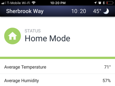 Aegis mobile views smartthings arlo nest wink smart home iot