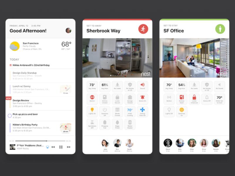 Smart Home Dashboard dashboard smart arlo smart-home wink nest