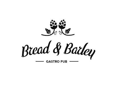 Bread Barley Logo branding graphic design logo