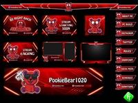 red panda twitch overlay