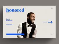 Honored - Homepage