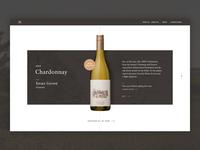 Homepage - Wine module