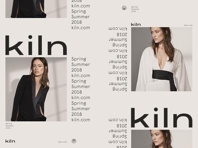 Kiln - Unused fashion branding brand logo